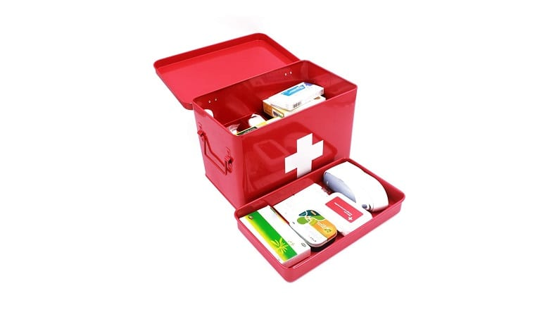 Funly Mee Vintage First Aid Box